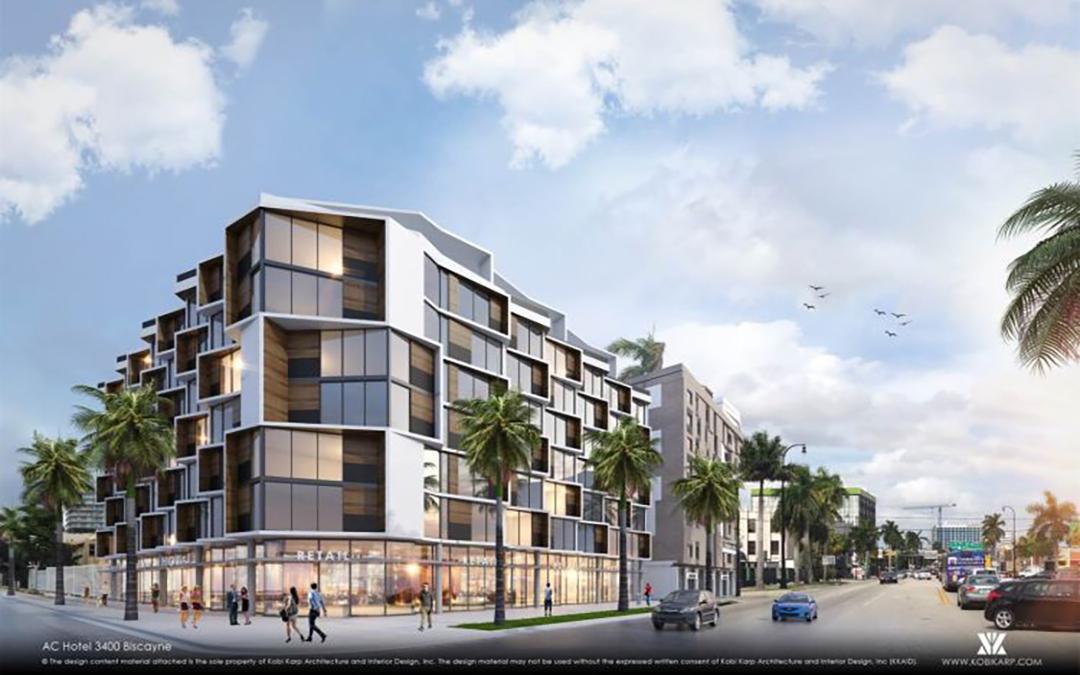 Vertical Construction Underway At AC Hotel By Marriott Midtown Miami