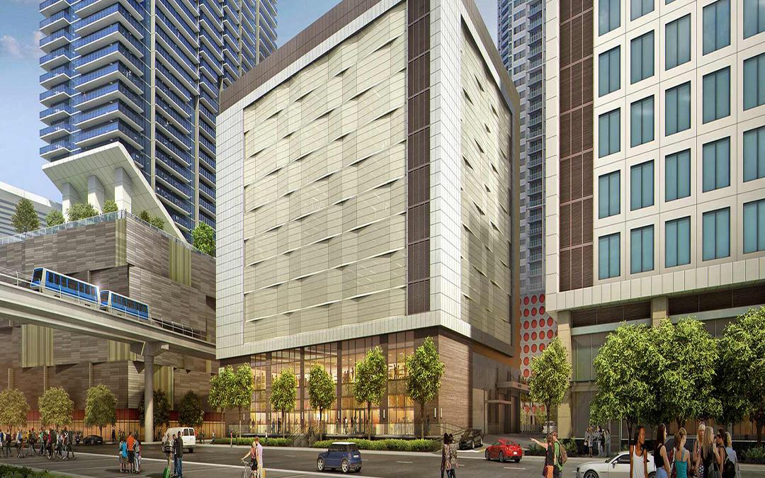 Vertical Construction Underway At Brickell World Plaza