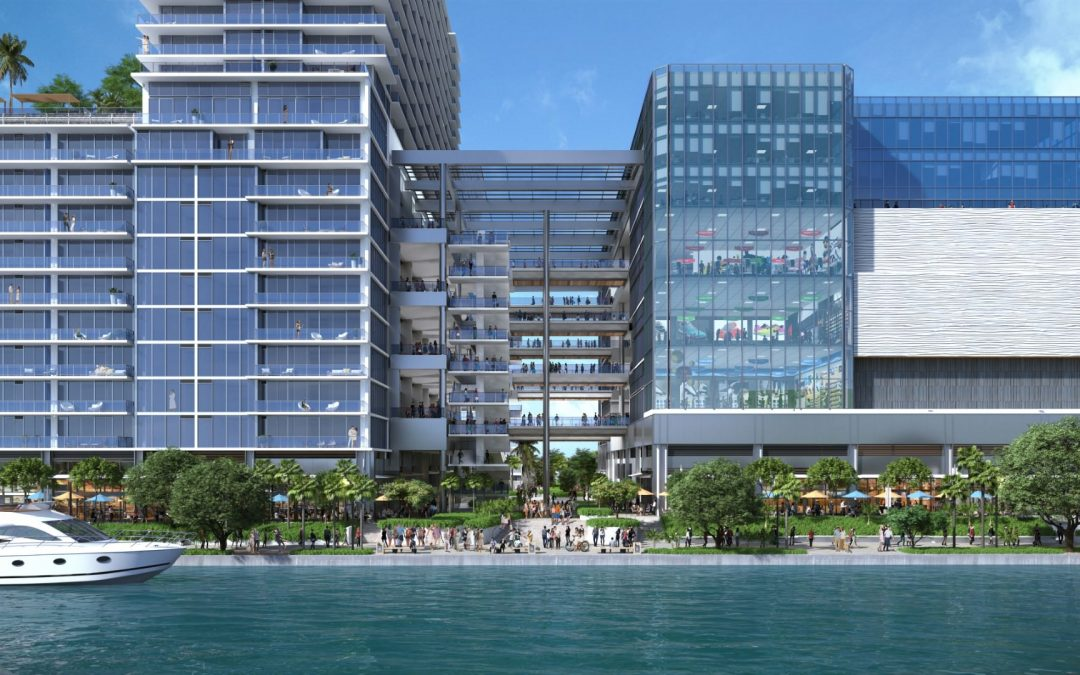 A Waterfront 'Restaurant Row' Is Planned On The Miami River With Up To 7 Restaurants