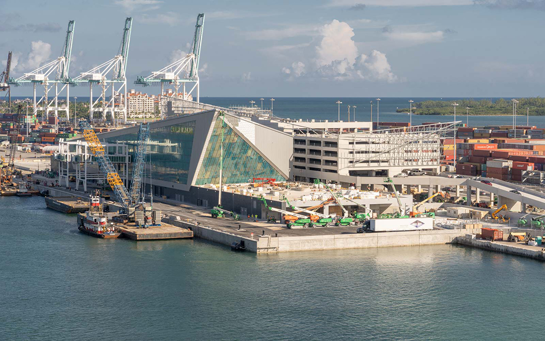 Royal Caribbean's 'Crown Of Miami' Nearing Completion