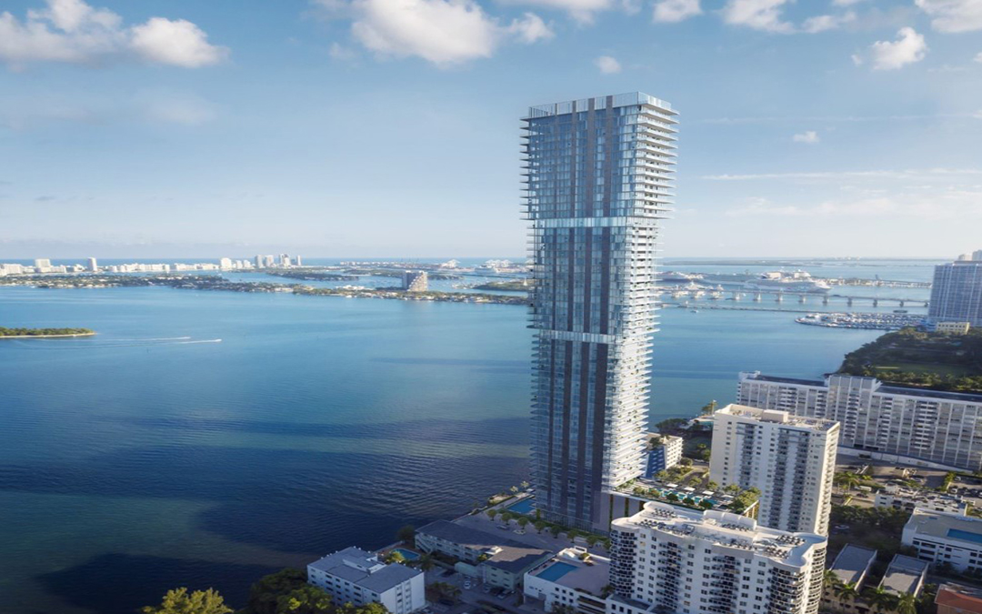 Photos: Edgewater's Telescoping Elysee Tower Is Rising And On Track To Become Tallest In Neighborhood