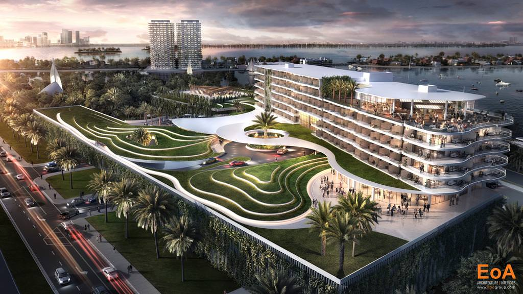 At Jungle Island, A 300-Room Eco-Resort Is Planned