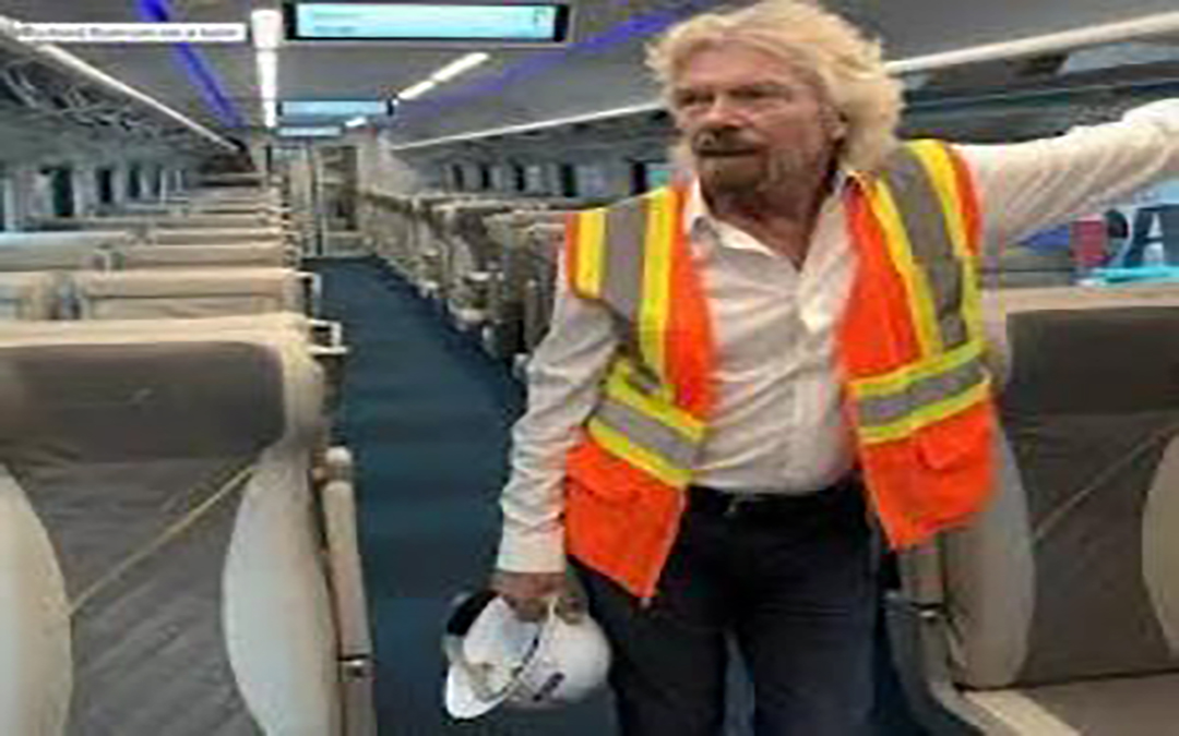 Passenger-train operator files to go public under its new name, Virgin Trains USA