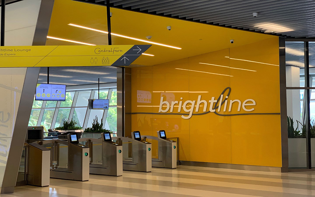 Brightline Carried 60,000 Passengers In October