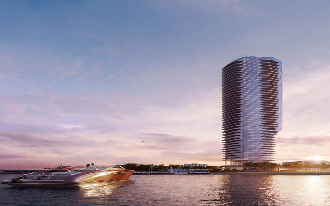 Construction Permit Filed For At Brickell's 613-Foot Una Tower