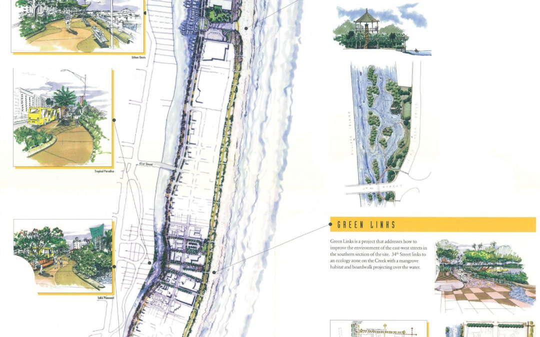 Miami Beach Planning Indian Creek Greenway, A 2.5 Mile Pedestrian Path In Mid-Beach