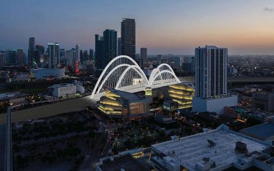 Foundation Work Underway For $802M Signature Bridge Project In Downtown Miami