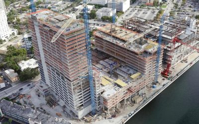 First Glass Installed At $425 Million River Landing, On Track For 1Q 2020 Completion