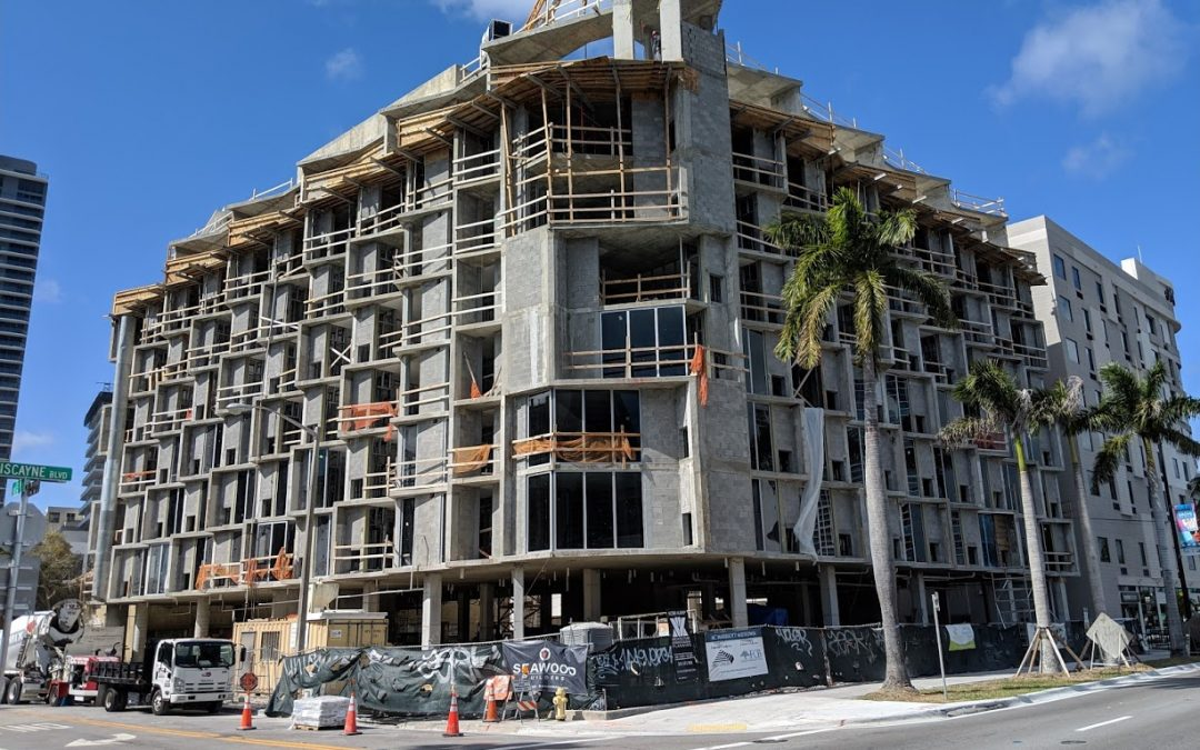 Photos: First Glass Installed At AC Hotel By Marriott Midtown Miami