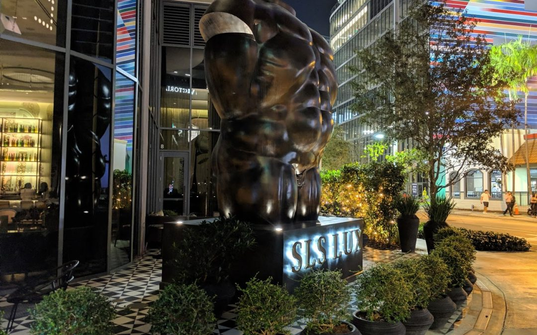 Big New Restaurant Files To Build Out Ground Floor Space At SLS Lux In Brickell