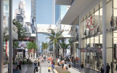 PHOTOS: GROUND FLOOR OF PARAMOUNT MIAMI WORLDCENTER, INCLUDING RETAIL SPACE LINING PROMENADE