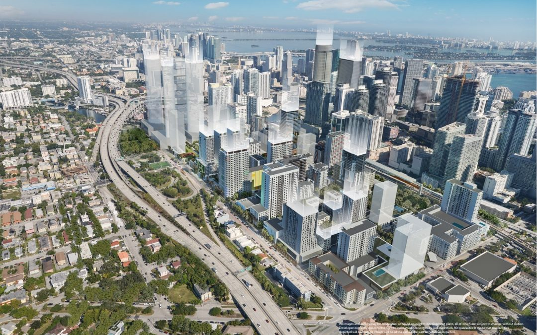 RENDERINGS SHOW WEST BRICKELL'S FUTURE, INCLUDING THOUSANDS OF NEW RESIDENTIAL UNITS