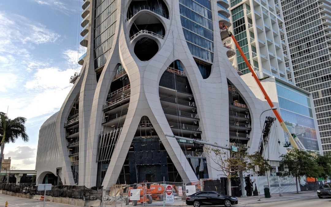 PHOTOS: FINISHING TOUCHES AT ZAHA HADID'S ONE THOUSAND MUSEUM AS OPENING NEARS