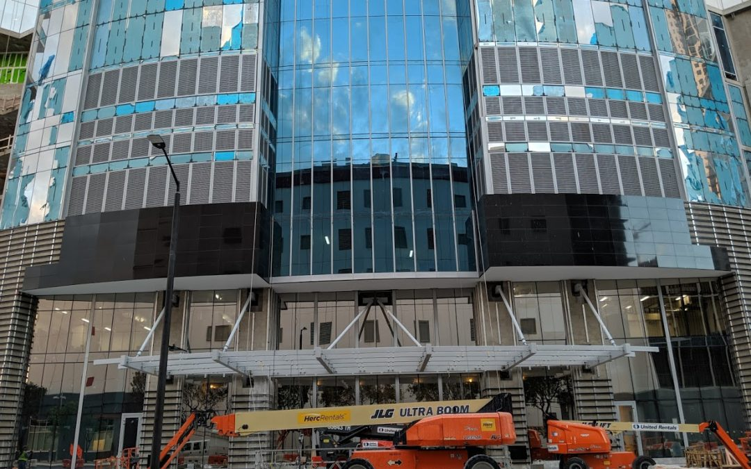 PHOTOS: PROTECTIVE FILM REMOVED AT PARAMOUNT MIAMI WORLDCENTER TO REVEAL GLASS