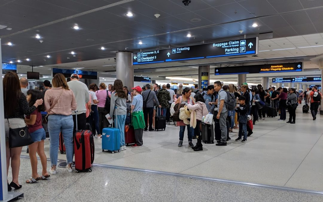MIAMI INTERNATIONAL AIRPORT STARTS 2019 WITH RECORD BREAKING QUARTER, BUT LINES ARE ALSO GROWING
