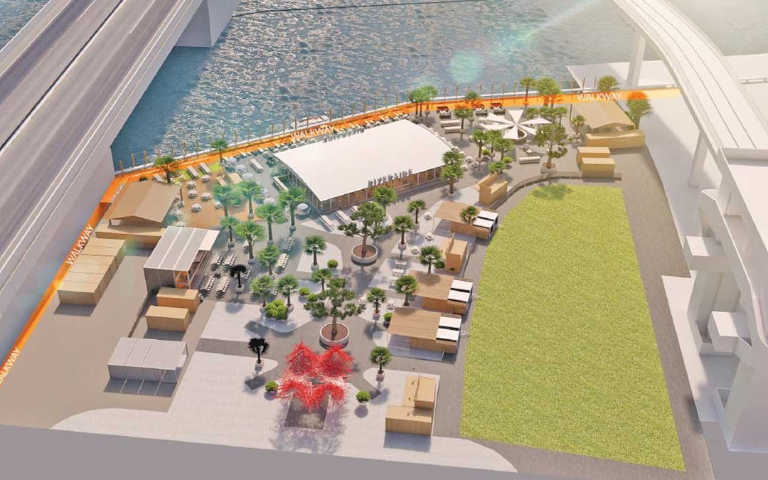 Brickell open-air riverfront site to offer 7 restaurants