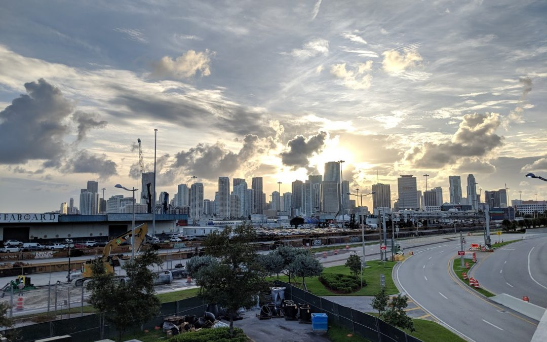 COMMISSIONER TO PROPOSE BUILDING TRANSIT SYSTEM FROM MIAMI'S AIRPORT TO SEAPORT