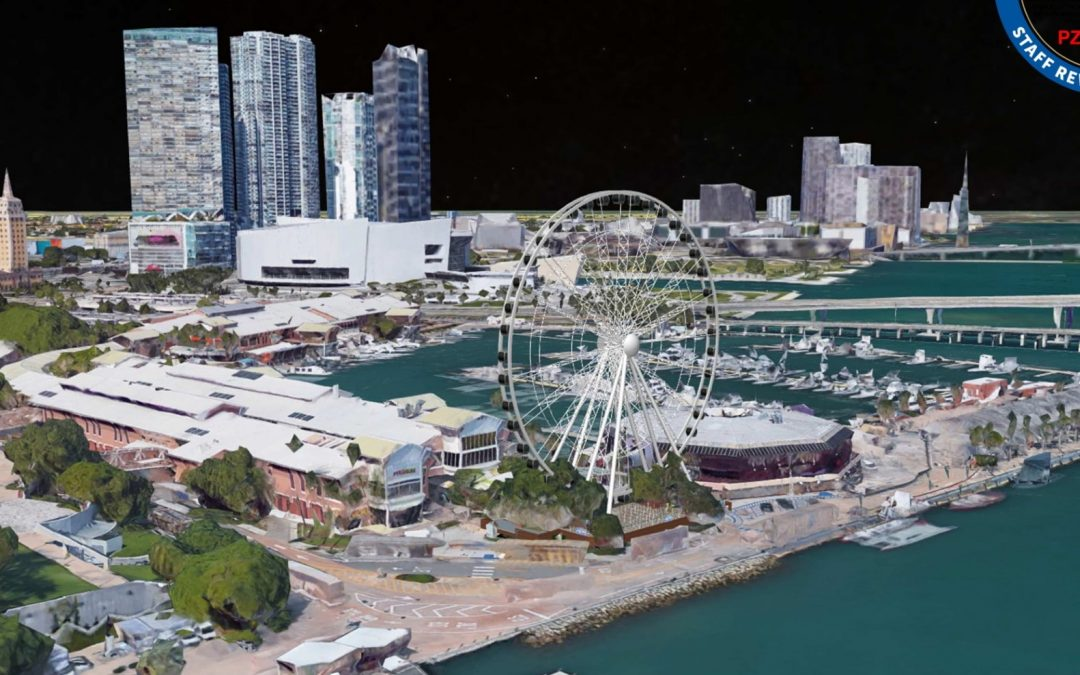 'ICONIC' DOWNTOWN MIAMI OBSERVATION WHEEL APPROVED, WILL BE OPERATIONAL WITHIN MONTHS
