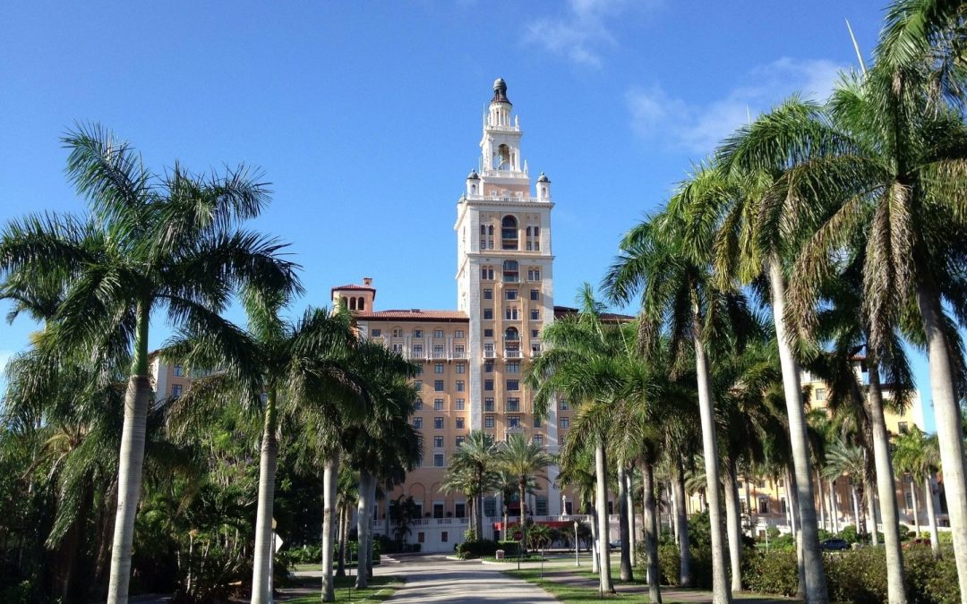 ARQUITECTONICA SAYS DESIGN FOR NEW HOTEL PROPOSED IN CORAL GABLES IS DERIVED FROM THE HISTORIC BILTMORE HOTEL
