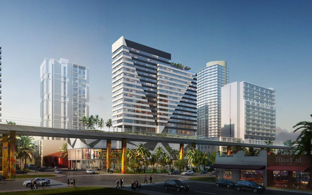 22-STORY AC BY MARRIOTT HOTEL GETS FAA APPROVAL ACROSS FROM BRICKELL CITY CENTRE