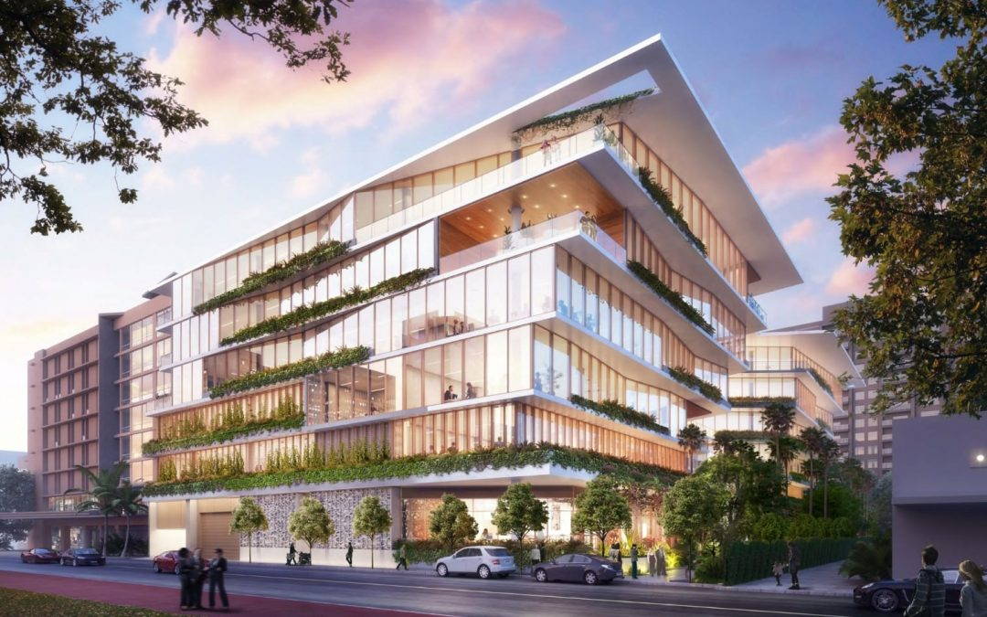 STARWOOD CAPITAL GROUP ABOUT TO BEGIN WORK ON NEW OFFICE & RETAIL BUILDING IN MIAMI BEACH, PERMITS NOW PENDING