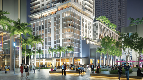 Retail, condos, apartments advance at Miami Worldcenter