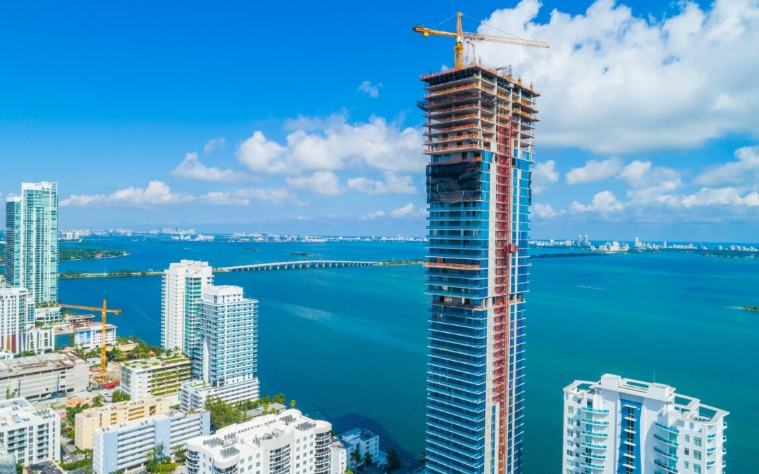 ELYSEE TOPS OFF AT 649 FEET, BECOMING THE TALLEST BUILDING IN EDGEWATER WITH A STRIKING TELESCOPING DESIGN THAT IS WIDER AT TOP