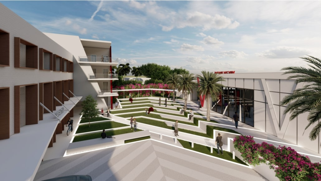 HERE'S WHAT THE VIRGIN TRAINS BOCA RATON STATION WILL LOOK LIKE IF APPROVED BY THE CITY COUNCIL AT A MEETING TODAY