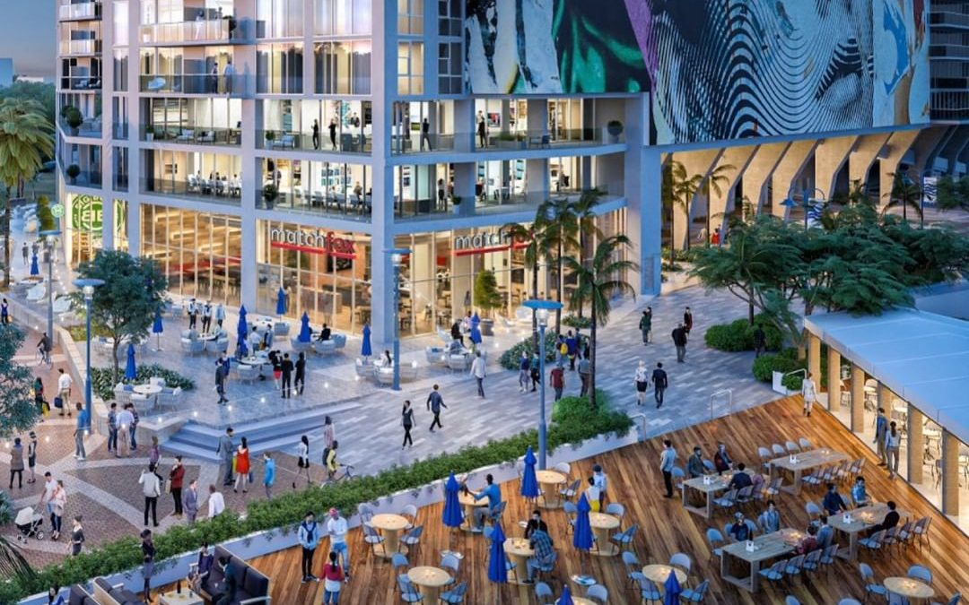 NEW RENDERINGS SHOW HOW UNDER CONSTRUCTION 34-STORY SOCIETY LAS OLAS TOWER WILL ACTIVATE THE RIVERFRONT