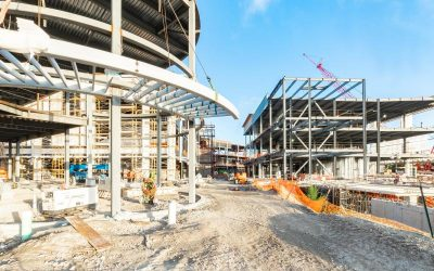 CONSTRUCTION PHOTOS OF ESPLANADE AT AVENTURA, WHICH WILL INCLUDE SHOPPING, FOOD HALL, RESTAURANTS & ENTERTAINMEN