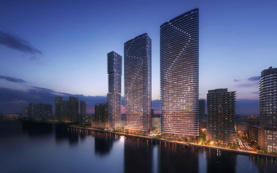 MELO SIGNS UTILITIES DEAL FOR NEARLY 800 RESIDENTIAL UNITS AT TWIN-TOWER ISLAND BAY IN EDGEWATER
